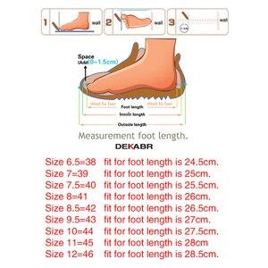 Image 5 - DEKABR Fashion Man Beach Sandals Summer Gladiator Mens Outdoor Shoes Roman Men Casual Shoes Flip Flops Large Size 46 Slippers