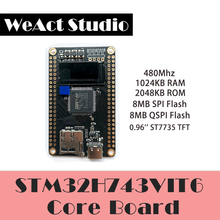 WeAct – carte d'apprentissage STM32H7, 2M Flash, 1M RAM, compatible avec Openmv