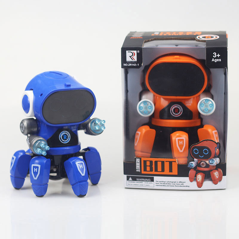 Mini RC Intelligent Robotic Toys Made With Plastic And Electronic Components Material 3