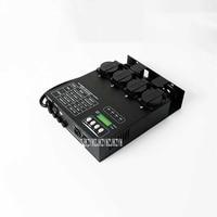 AMT-8008 DMX 512 EU Plug 1KW Dimmer 4 Channels Silicon Pack Box Hanging Bar DJ Stage Light Control FixtureDimmingEquipment