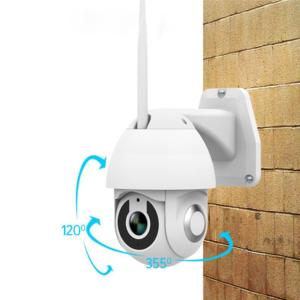 2019 New Xiaovv OU 9113 M4 HD 1080P 2MP IP Camera Indoor Outdoor Security Smart Camera WIF PTZ  Infrared Night Version-in Surveillance Cameras from Security & Protection