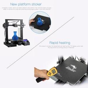 Image 5 - CREALITY 3D אנדר 3/Ender 3 פרו 3D מדפסת משודרגת מגנט לבנות צלחת לחדש הפסקת חשמל הדפסה MeanWell אספקת חשמל