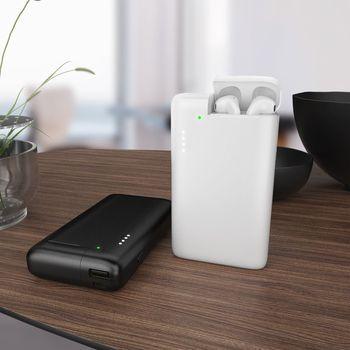 WST 10000 мАч Внешний аккумулятор для Airpods портативное Внешнее зарядное устройство Внешний аккумулятор USB беспроводной внешний аккумулятор для...