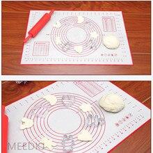 1pcs baking non-slip kneading dough food-grade platinum silicone rolling