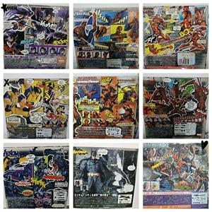 DC niesamowite Yamaguchi Revoltech Deadpool GAMBIT X-MEN Magneto Batman mroczny rycerz X-MEN Wolverine Logan Howlett zabawki figurki akcji