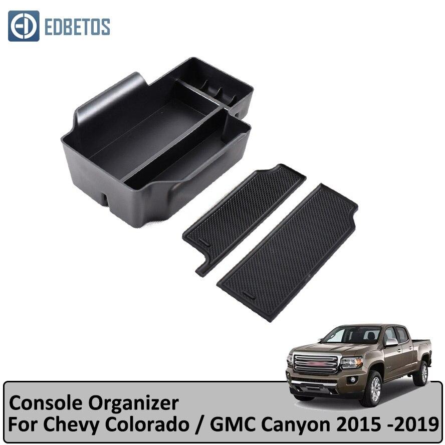 For Chevy Colorado GMC Canyon 15-18 Center Console Storage Box Organizer Tray