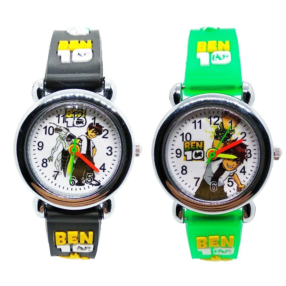 Cartoon Ultimate Hero BEN 10 Children Watch Waterproof Kids Watches For Child Girls Boys Gift Students Clock Montre Pour Enfants