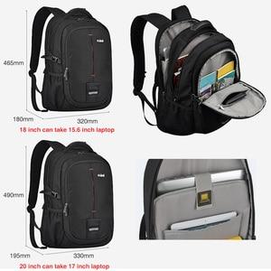 Image 5 - Mixi Men Backpack Bag College Student Computer Bag Female Travel Boys Work Waterproof Fashion School University Backpack M5029