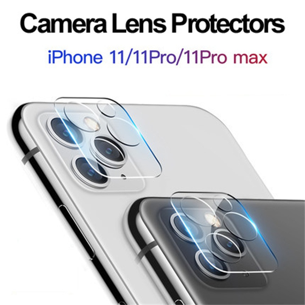 Transparent Tempered Glass Camera Lens Screen Protector Case Cover Protective Ring For IPhone 11 Pro Max/iPhone 11 Pro/iPhone 11