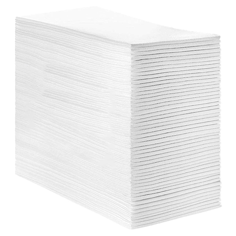 Linen Feel Guest Towels Disposable Cloth Like Paper Hand Napkins Soft, Absorbent, Paper Hand Towels For Kitchen, Bathroom, Parti