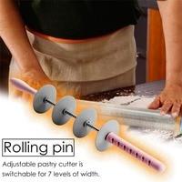PAN en rodajas rolling pin croissant Potable pan rodillo cortador cuchillo herramienta para cortar de cocina Accesorios