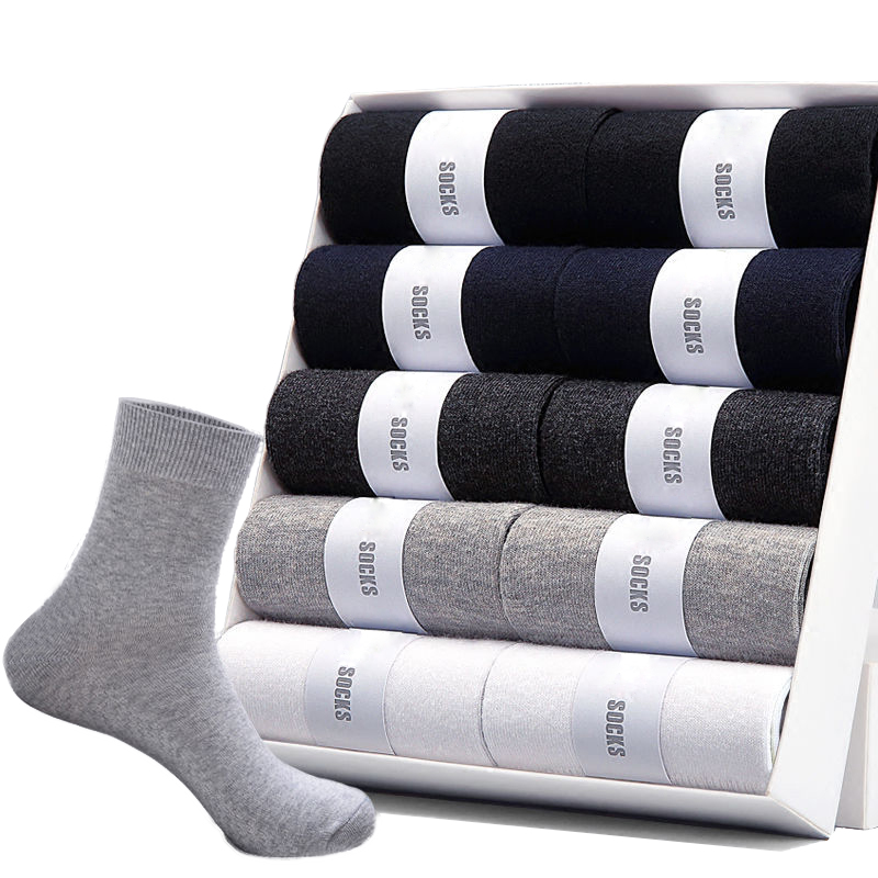 2020 Brand New Mens Cotton Socks For Men Black Business Breathable Spring And Autumn Male Crew Sock Meias Hot Cheap Price Sokken