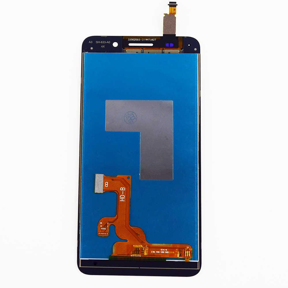 لهواوي الشرف 4X Che2-L12 Che2-L23 Che2-L11 Che1-L04 جهاز مراقبة بشاشة إل سي دي + محول الأرقام بشاشة تعمل بلمس لوح مستشعر الجمعية الإطار