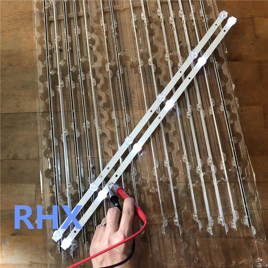 4Pieces/lot For New Led Backlight CC02320D562V04 For 32inch Strip LE-8822A SJ.HL.D3200601-2835BS-F 6v 6lamp 56CM 100%NEW