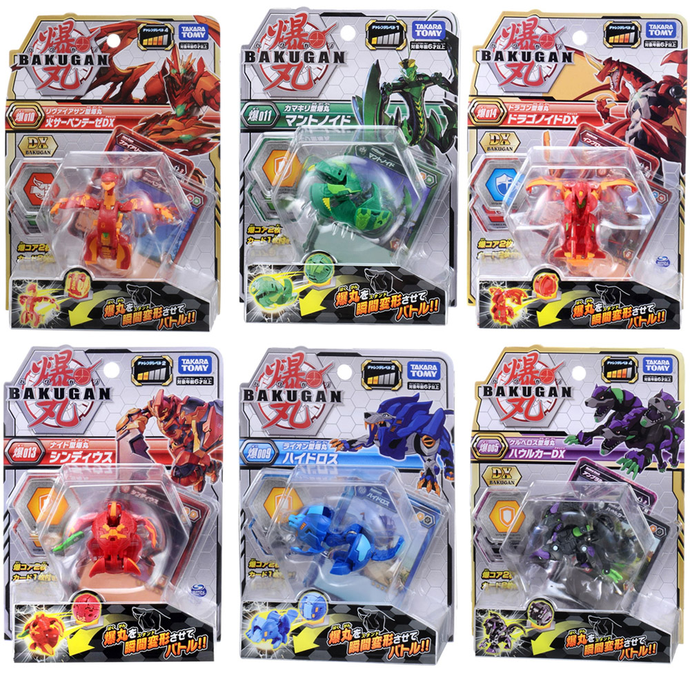 Takara Tomy Battle Planet Toys Dragonid Ball Bakugan Brawlers Starter Pack Spining Top Game For Children