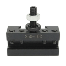 6-12 Inch 2 AXA Boring Turning Quick Change Tool Post Facing Holder 250-102 for CNC Lathe Tool Kit