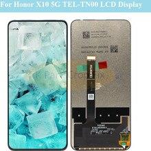 """6.63 """"Voor Huawei Honor X10 Lcd Touch Screen Digitizer Voor Honor X10 5G TEL TN00 Lcd Beeldscherm Vervanging onderdelen"""