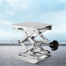 Scissor Table-Rack Lab-Stand Lab-Lift-Lifter Woodworking Stainless-Steel Benches Science-Experiment