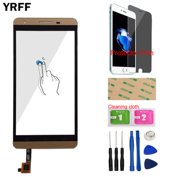 5.5'' Touch Screen Glass For Cubot X15 Touch Screen Digitizer Panel Front Glass Sensor Lens Mobile Tools Protecotr Film 6 0 touch screen for oukitel u16 max touch screen glass tested front glass digitizer panel lens sensor tools adhesive