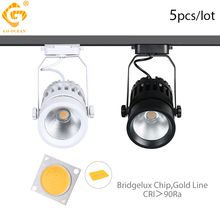 LED Track Lights 30W Rail Spotlights Windows Showrooms Clothing Shoes Shop Store Exhibition Lighting Fixtures Tracking Lamps