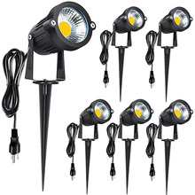 6pcs cob garden light…