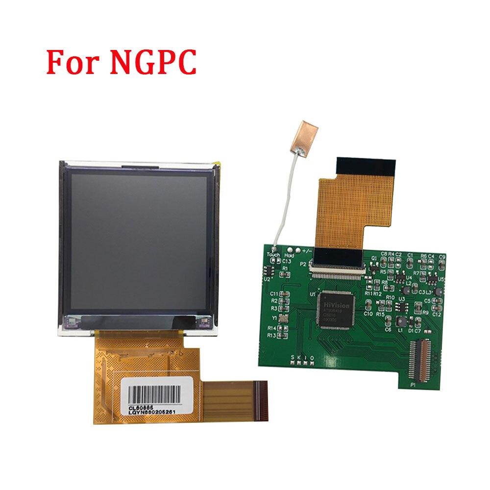 Remplacement pour NGPC rétro-éclairage LCD écran haute lumière Kits de Modification pour SNK NGPC Console LCD écran lumière gamepad accessoires