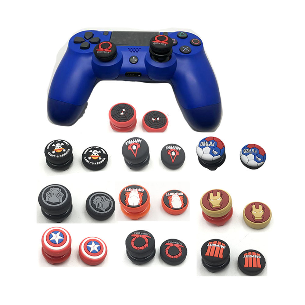20SETS For Switch Pro XBOX360 Analog Extended Thumb Grip Button For Sony Playstation 4 PS4 Controller