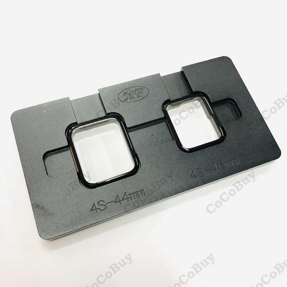 Dual LCD מסך יישור עמדה עובש עבור אפל שעון 1/2/3/4 סדרת 38/40 /42/44mm מגע מסך זכוכית OCA רבד תיקון כלי