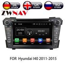 Autoradio Android 10, 4 go/128 go, Navigation GPS, lecteur multimédia DVD, unité centrale, enregistreur cassette, pour voiture HYUNDAI I40 (I-40, 2011 – 2016)