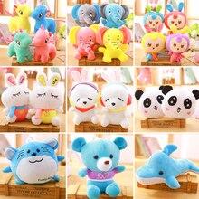 20 cm or so multi-style plush toy cute beautiful unicorn rabbit stuffed animal children gift WJ136