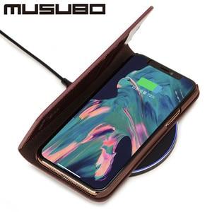 Image 5 - Musubo Leather Case Voor Iphone 11 Pro Max 8 Plus 7 Luxe Wallet Telefoon Gevallen Cover Voor Iphone Xs Max X 6 6S Plus Card Capa Coque