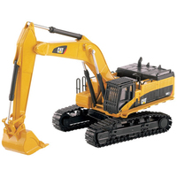 Diecast Masters1/64 Scale Caterpillar Cat 385C L Hydraulic Excavator Vehicle Engineering Truck Model Cars Gift Toys Collection