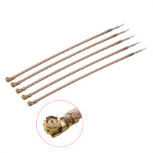 5Pcs IPX Female Jack RG178 Cable Connector IPX IPEX U.fl Ufl Single-head RG178 Coaxial Cable Pigtail Jumper Length 5-50CM