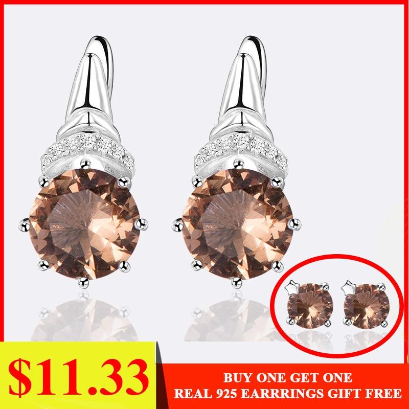 Kuololit Clip Earrings Fine-Jewelry Color-Change Gemstone 925-Sterling-Silver Zultanite