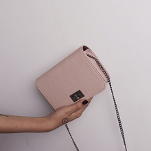 2020 shoulder bag bolsa feminina Chic PU chain small square