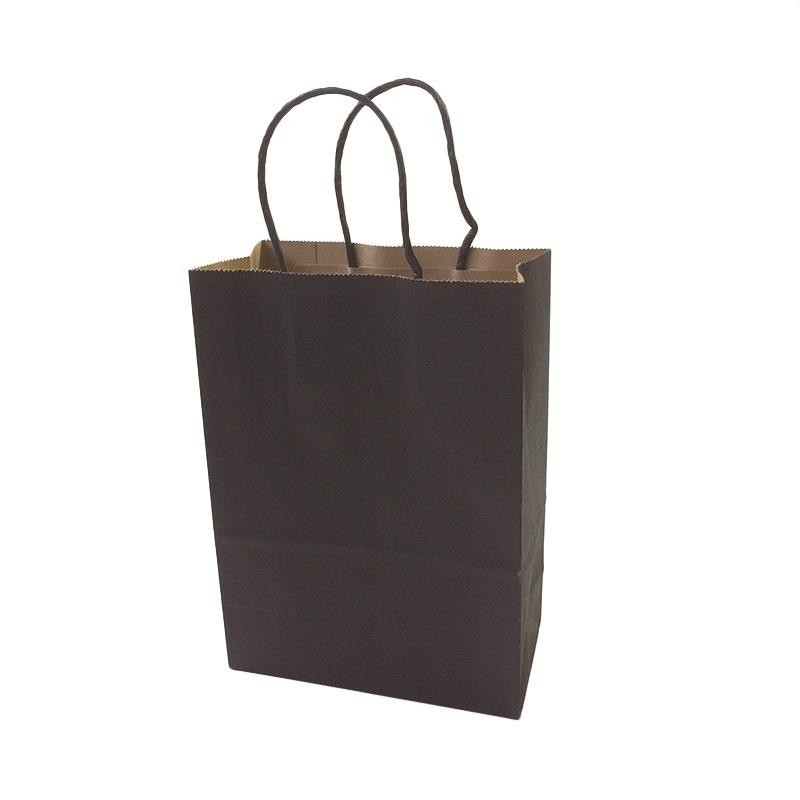 celebration : 40PCS lot  Kraft paper bag with handles 21x15x8cm Festival gift bag for Gifts Jewelry Wedding Birthday Party High Quality