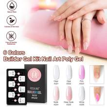 Acryl Extension Gel Nail Builder Gel Voor Nail Extensions Poly Gel Vernis Polygel Clear Lak Quick Building Nail Extension(China)