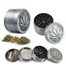 4 Слои цинковый сплав курить травку измельчитель табака мельницы