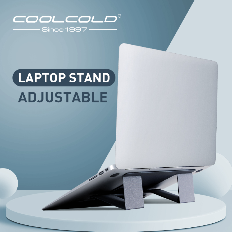 Portable Adjustable Laptop Stand Invisible Folding Stand Desktop Heightening Function Tablet Holder For IPad MacBook Laptops