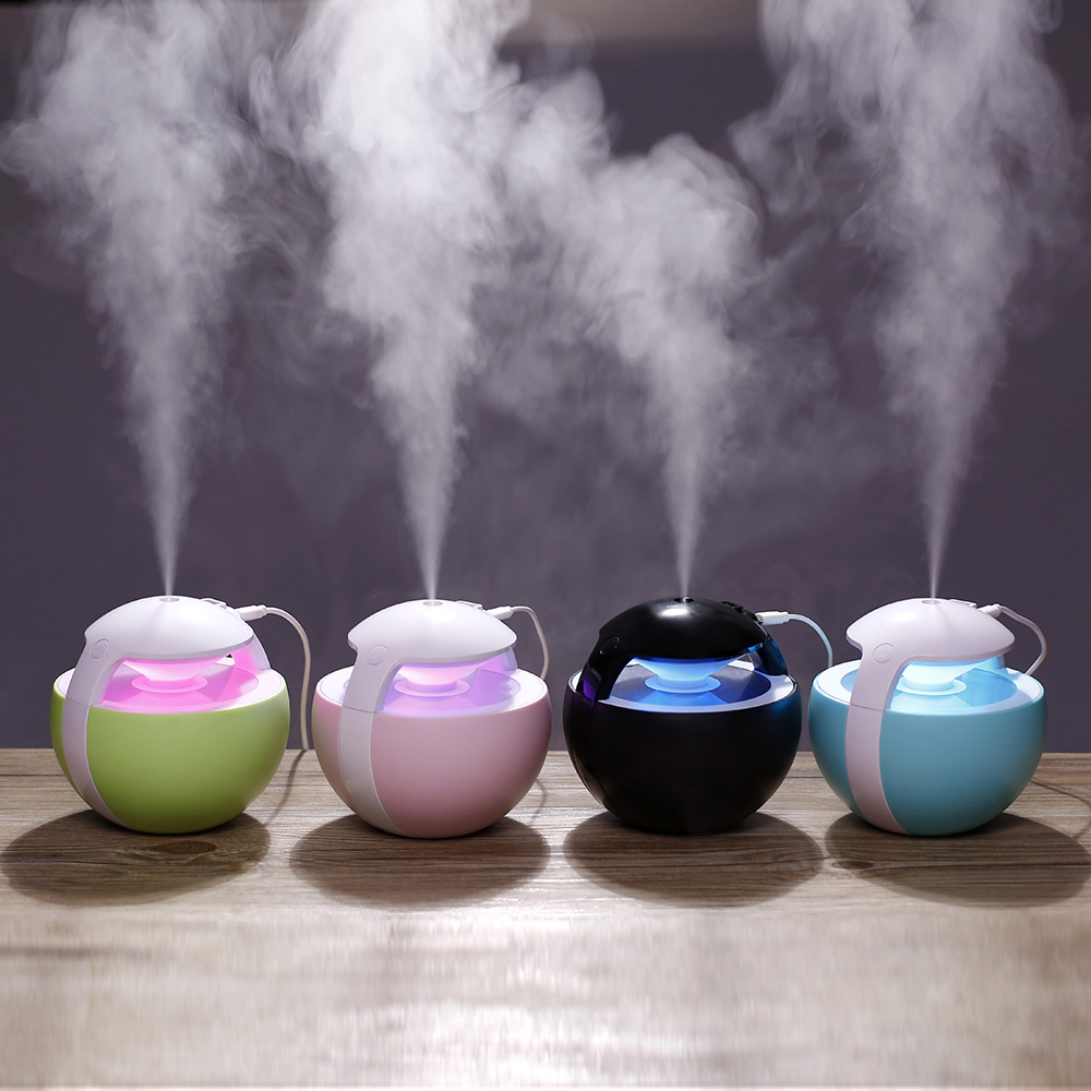 NANUM 450ML Large Capacity Humidifier For Whole Night Water Soluble Oil Aroma Diffuser Electric Ultrasonic Air Humidifier