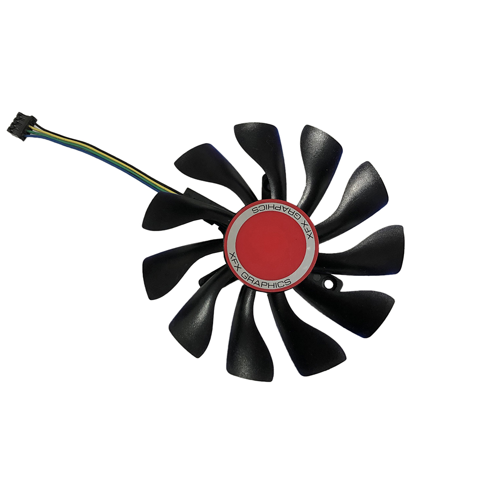 85MM Fan RX 460/550/560 GPU VGA Cooler Video Card Fan For Radeon XFX RX560 RX550 RX460 Graphics just can be as replacement image