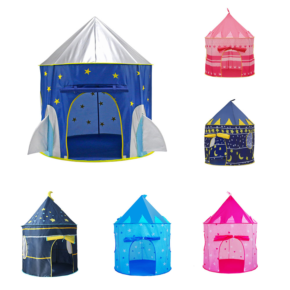 Portable Kids Tent Foldable Children's Tent Tipi Outdoor Camping Toy Baby Castle Play House Toddler Ball Pool Babysitter Teepee