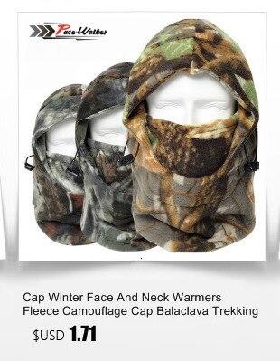 Зимняя шапка для лица и шеи, флисовая камуфляжная шапка, Балаклава для походов и верховой езды, лыжная и охотничья теплая шапка, Ветрозащитная маска