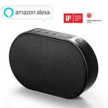GGMM przenośny głośnik Bluetooth zewnętrzny bezprzewodowy inteligentny głośnik 10W muzyka Stereo głośnik wsparcie głosowe Alexa 2200mAh 14H Mini