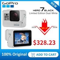 GoPro HERO7 Black (ограниченная серия Dusk White) Водонепроницаемая Экшн-камера 4 K 60fps 1080 P 240fps видео Go Pro Спортивная камера 12MP фото