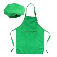 Chef-Set Apron Kids Painting Gift Baking Kitchen Children with And for Decorating-Party
