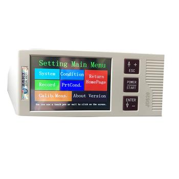 Przyrząd do pomiaru chropowatości powierzchni wysokiej jakości przyrząd do pomiaru szerokości z funkcją Bluetooth USB miernik chropowatości JD520 tanie i dobre opinie niusiwen CN (pochodzenie) Brak Ra Rz Rq Rp Rv R3z R3y RzJIS Rsk Rsm Rmr 0 001μm =10 ISO DIN ANSI JIS USB Bluetooth