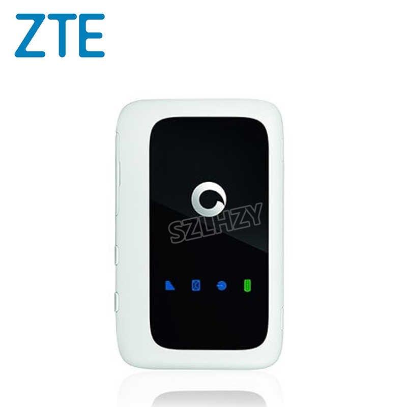 Desbloqueado zte vodafone r216 R216-z 4g lte 150mbps roteador móvel bolso sem fio wifi modem carro mifi 2300ma hotspot + grande antena