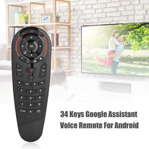 Image 3 - G30 sinek hava fare sesli uzaktan kumanda 2.4G kablosuz klavye için USB alıcı ile kablosuz uçan sıçan 6 eksenli jiroskop sensörü