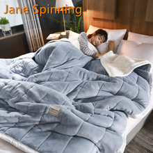Fleece Blankets Bedding Duvet Throws Luxury Twin-King Thick Super-Soft Home Adult And